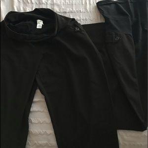 Motherhood Black pants